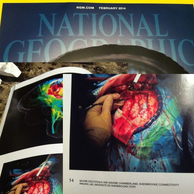 SCIL's imagery and videos featured in February's National Geographic Magazine